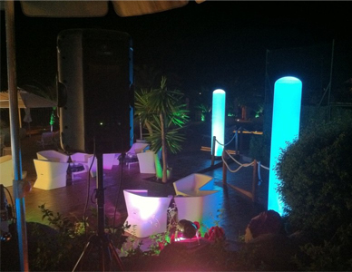 Alquiler de Hinchables de LED