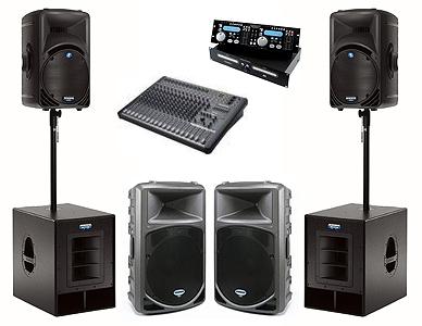 Alquiler de equipos de sonido