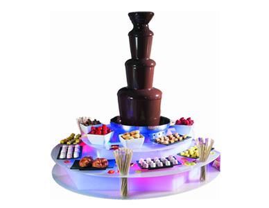 Alquiler de fuente de chocolate en Tenerife