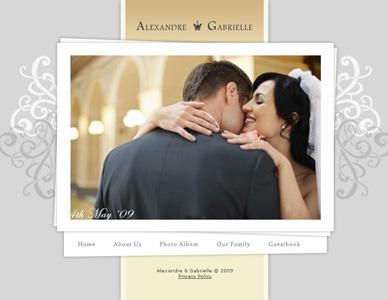 Diseño página web para bodas y eventos